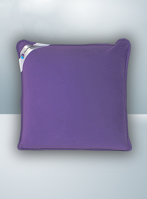 Solid Purple Massage Pillow image