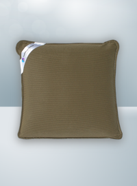 Solid Brown Cool Magic Pillow
