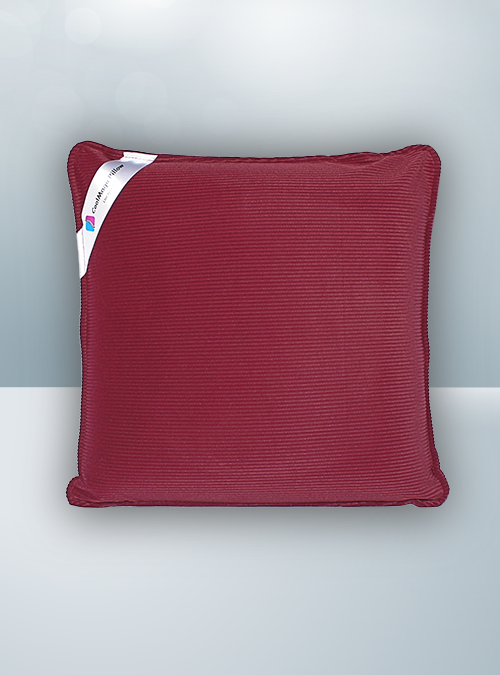 Solid Burgundy Cool Magic Pillow