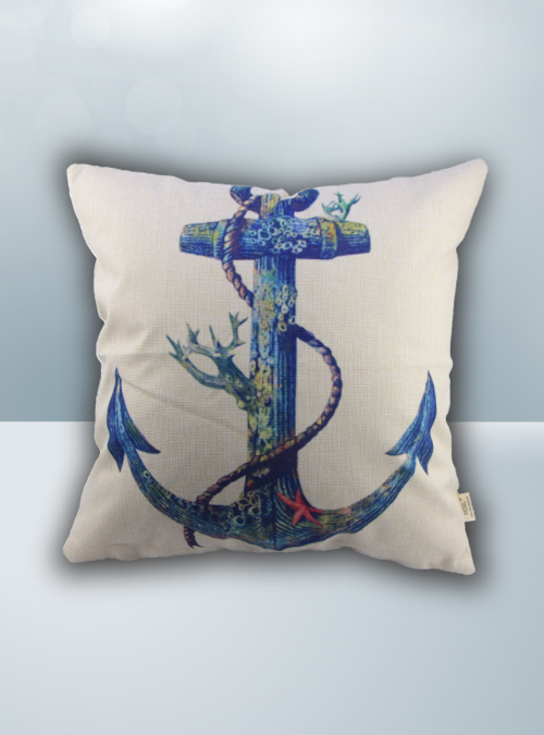 Anchor Design on Cool Magic Pillow