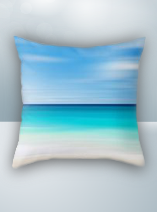 Beach and Sea Design on Cool Magic Pillow