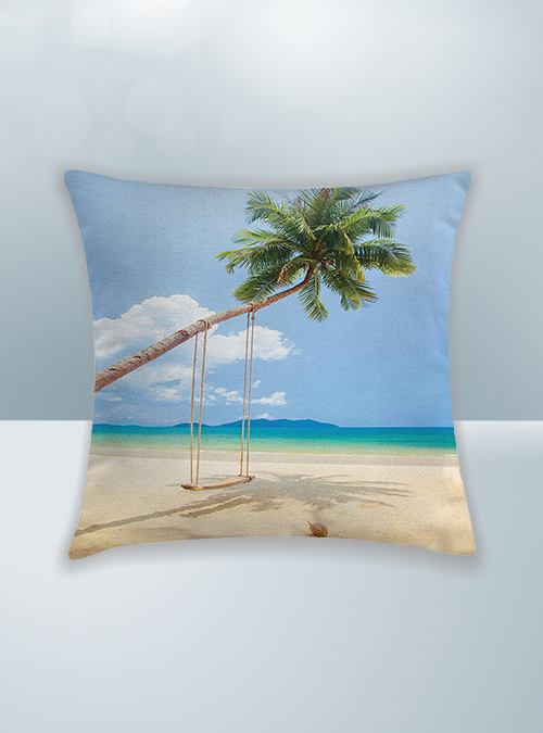 Beach Design on Cool Magic Pillow