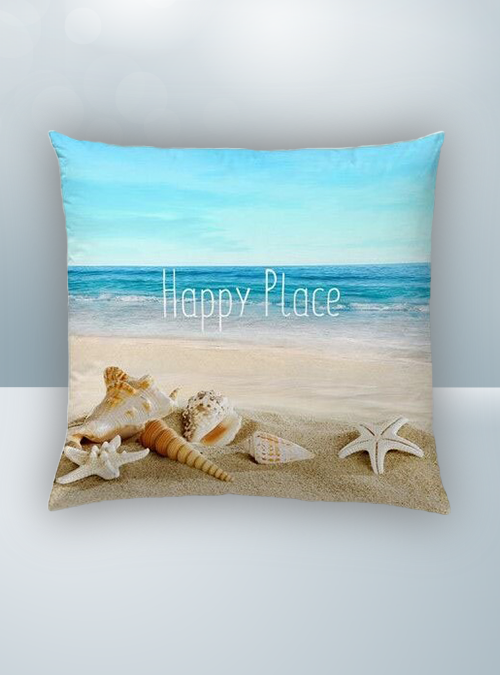 Beach, Seashell and Sea Design on Cool Magic Pillow