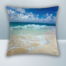 Beach, Wave and Sea Design on Cool Magic Pillow