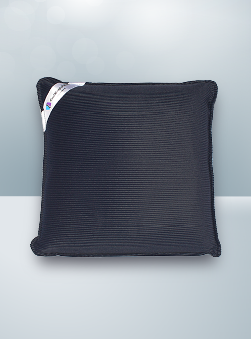 Solid Black Cool Magic Pillow