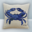 Pairlament Blue Crab Design on Cool Magic Pillow
