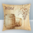 Wine grapes and barrel Design on Cool Magic Pillow